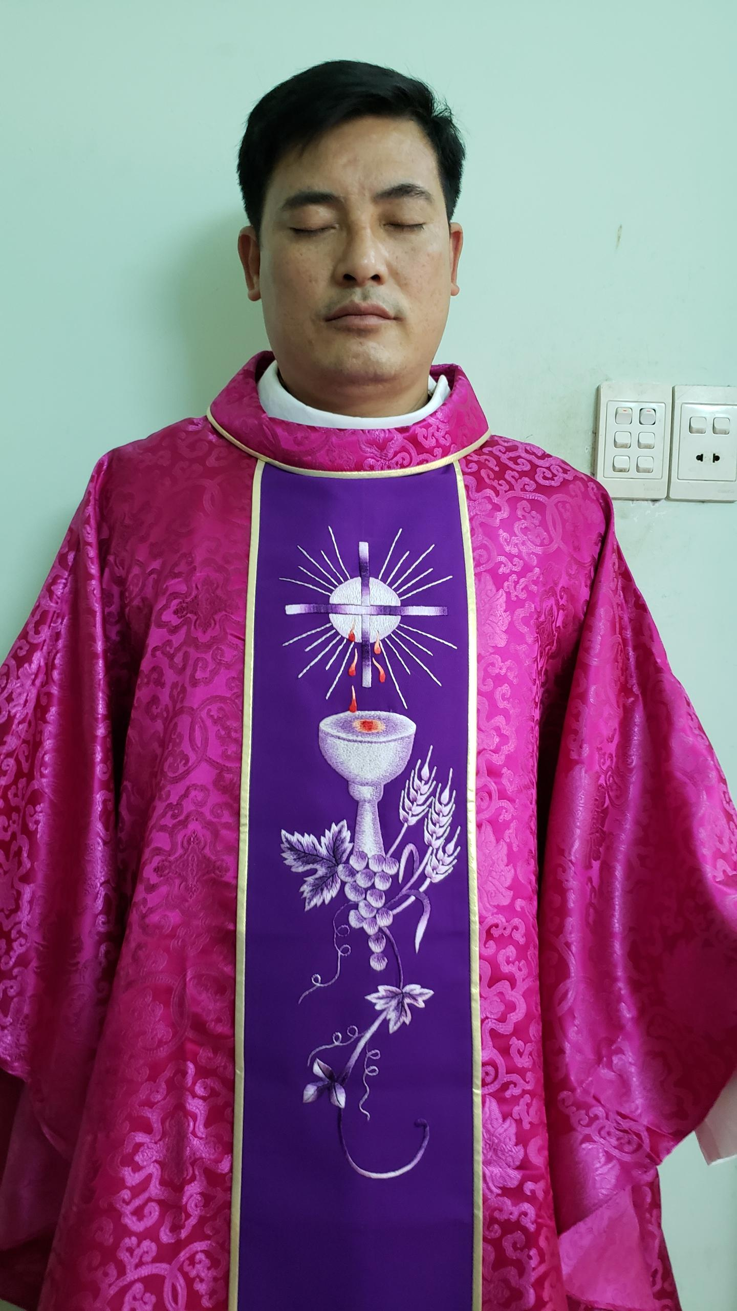 Image result for pink vestments